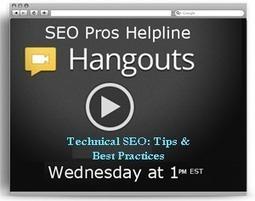 SEO Pros Helpline: Technical SEO Tips and Best Practices | SEO Tips | Scoop.it