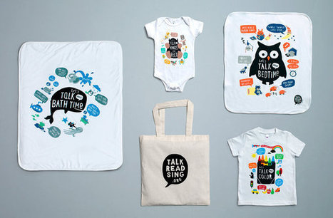 Cute Baby Clothes That's Designed To Get Parents Talking More To Their Kids | Parenting, Family & Kids | Scoop.it