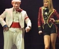 Tour de Taylor Swift finaliza con Ed Sheeran vestido de payaso | Ed Sheeran | Scoop.it