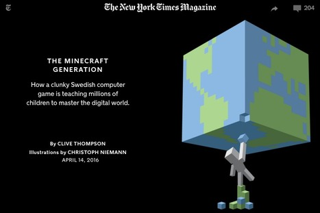 The Minecraft Generation | Augmented, Alternate and Virtual Realities in Higher Education | Scoop.it