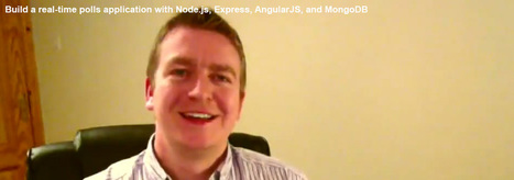 Build a real-time polls application with Node.js, Express, AngularJS, and MongoDB | node web programming | Scoop.it