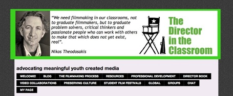 The Director In The Classroom - advocating meaningful youth created media | Prionomy | Scoop.it