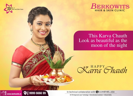 Wishing very happy #KarwaChauth to all. May the moon brighten your lives. | Berkowits Hair & Skin Clinic | Scoop.it