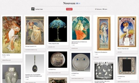 Meet Pinterest: A Private Social Pinboard That Collects Your Online Memories | Mashable | Social Media Content Curation | Scoop.it