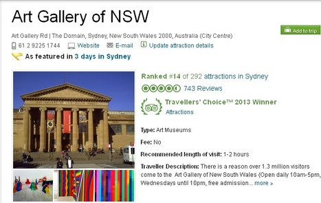 Art Gallery of NSW | Plastic Printing Pty Ltd | Scoop.it