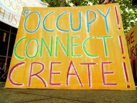 ":: OCCUPY! * CONNECT! * CREATE! - Imagining Life Beyond ""The Economy"" :: 