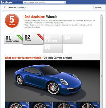 Porsche fetes 5M Facebook fans via customized 911 Carrera 4S - Luxury Daily - Internet | Advertising & Media | Scoop.it
