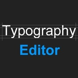Free online typography generator | Monday Morning Tech News_LS @ French American | Scoop.it