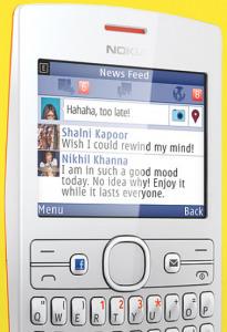 Facebook Phone? Non proprio, è il Nokia ASHA 205! | News dalla Silicon Valley | Scoop.it