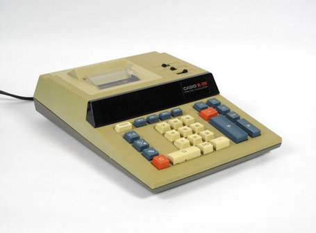 Vintage Casio DL-220 Printing Calculator | Chummaa...therinjuppome! | Scoop.it