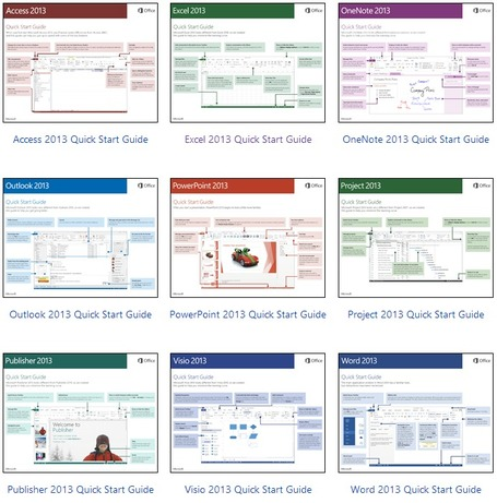 Office 2013 Quick Start Guides | formation 2.0 | Scoop.it