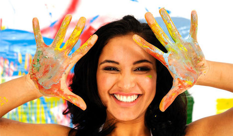 Is Creativity the Secret to Happiness? - Shape Magazine | Cuppa | Scoop.it