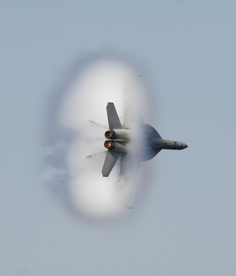 40 Pictures of Airplanes Breaking the Sound Barrier | Interesting and Fascinating | Scoop.it