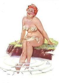 Vintage Pin Up Girl Playing Cards BBW Hilda-Risque-Unused | Sex History | Scoop.it