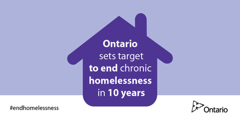 Ontario Commits to Ending Chronic Homelessness in 10 Years | Library@CSNSW | Scoop.it