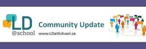 LD@school Community Update - November 3rd 2015 | TCDSB Special Education | Scoop.it