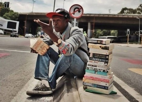 Meet the homeless man who turned his life around by offering book reviews instead of begging | Ebook and Publishing | Scoop.it