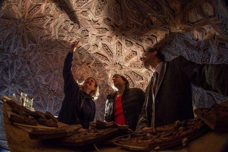 Descubren dibujos nazaríes ocultos en la Alhambra | ArqueoNet | Scoop.it