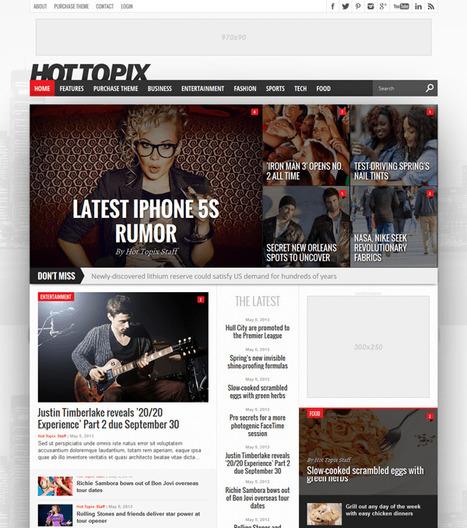 Best Wordpress Magazine Themes - 2013 Collection | Best Wordpress Magazine Themes | Scoop.it