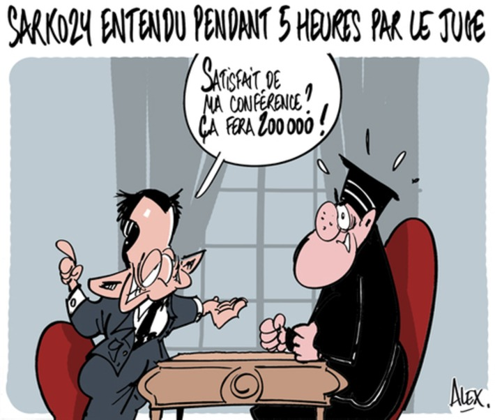 Sarkozy encore entendu | Baie d'humour | Scoop.it
