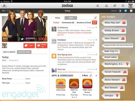 Zeebox picks Gracenote Entourage for its second screen TV chat platform | Social TV is everywhere | Scoop.it