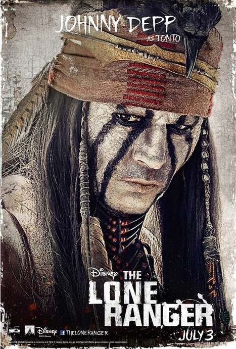 THE LONE RANGER - Character Posters, Movie Images & New Trailer | Native Style | Scoop.it