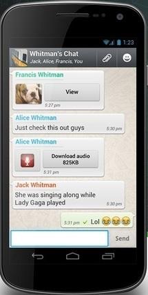Today's app: WhatsApp | Today's Apps | Scoop.it