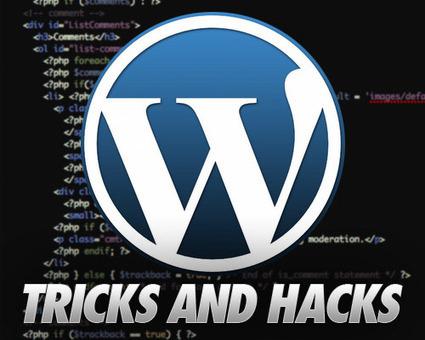 30+ (More) Most Wanted Wordpress Tips, Tricks and Hacks   Wordpress Tips   Scoop.it