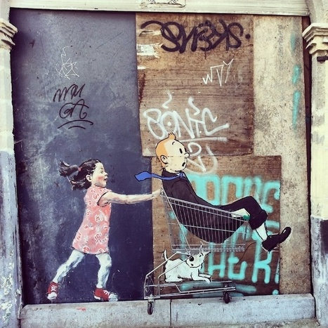 Whimsical New Street Art Sprouts Up in Belgium - My Modern Metropolis | World of Street & Outdoor Arts | Scoop.it
