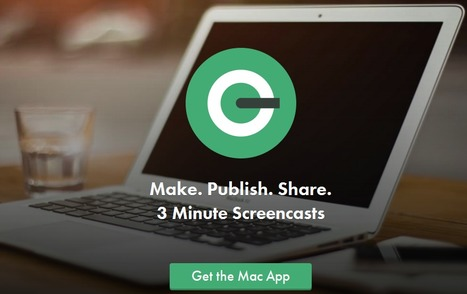 3 Minute Screencasts: QuickCast - | Dennis Thomas O'Connor's E-Portfolio (AKA: Wiredinstructor ) | Scoop.it