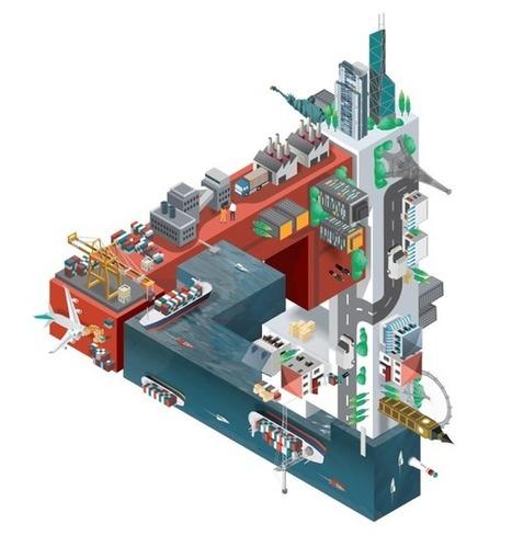 Increíbles diseños isométricos por Jing Zhang de Reino Unido | Diseño gráfico e industrial | Scoop.it