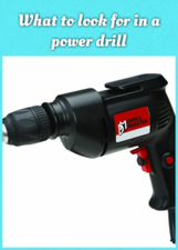 What to look for in a power drill | Home | Scoop.it