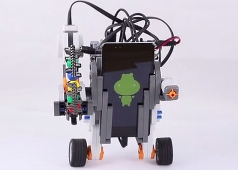 Self Balancing Robot Created Using Arduino Hippo-ADK, Android And Lego ... - Geeky gadgets | Open Hardware Source | Scoop.it