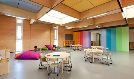 The Use of Colour in Schools to Enhance Learning - DesignBuild Source | Learning Spaces for 21C Education | Scoop.it