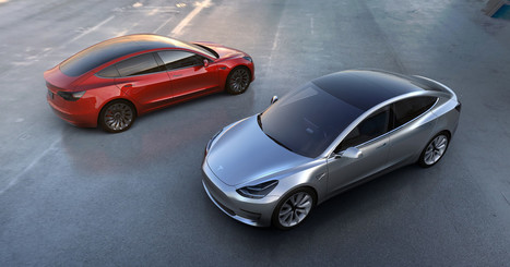 Meet Tesla's Model 3, Its Long-Awaited Car for the Masses | Tesla Motors (+ other electric cars news) | Scoop.it