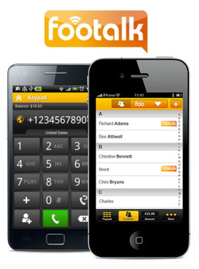 Worldwide Campaign For The Latest VoIP Application: FooTalk ... | Unified Messaging | Scoop.it