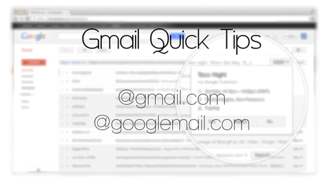 Use Your Two Gmail Addresses Efficiently | Time to Learn | Scoop.it