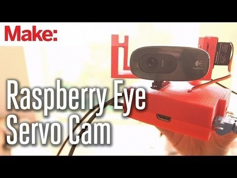 Build a Raspberry Pi Remote Servo Cam You Can Control from ... | African futures fun | Scoop.it