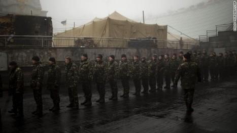 Ukraine crisis: Western leaders pile pressure on Russia | Hamiter Current Events | Scoop.it
