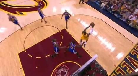 Final NBA 2015: La asistencia a ciegas a LeBron para desmantelar la trampa defensiva: ¡Es como Magic! - MARCA.com | e-Deportes | Scoop.it