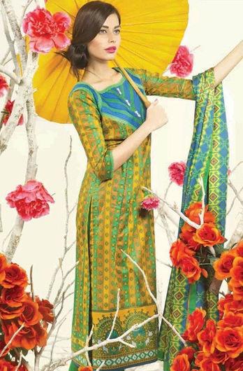 Satrangi by Bonanza Stylish Summer Wear Lawn Collection 2014   ..:::-StyloStyle.co.uk-:::..   Stylostyle.co.uk   Scoop.it