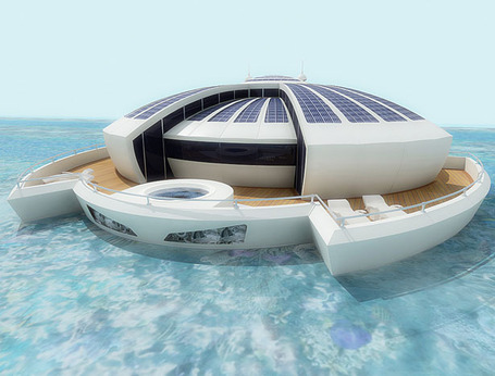 Solar Floating Resort Concept | Vulbus Incognita Magazine | Scoop.it