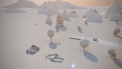 Paper City / Maciek Janicki | Motion design | graphisme & webdesign | Scoop.it