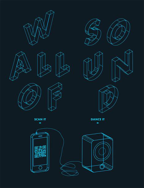 Wall of sound: Papier peint interactif - Industries Créatives | communication | Scoop.it
