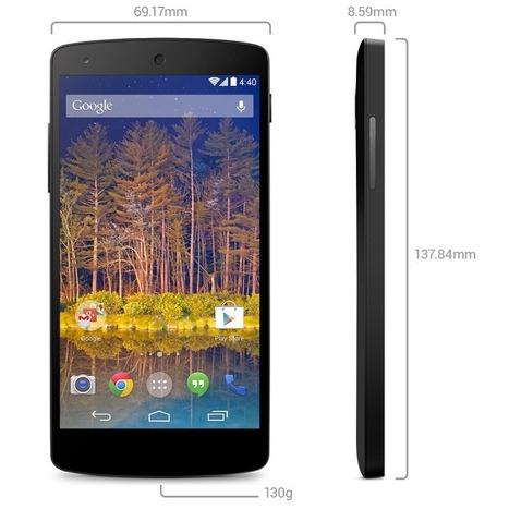 Google Nexus5, finalmente disponibile anche in Italia nello store GooglePlay | iMela & Affini | Scoop.it