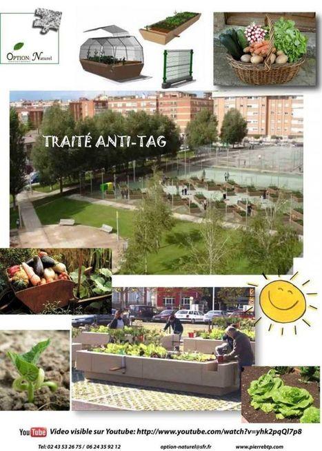 Photos - jardin urbain, ferme urbaine | Vertical garden | Scoop.it