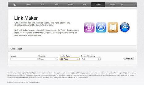 Créez vos liens d'affiliation iTunes Store avec iTunes Link Maker - Neadkolor.com | GRAPHISME | Scoop.it