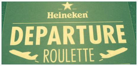 Have you played #Heineken #Departure #Roulette - Gold & Fabulous | Digital and Social Media Marketing | Scoop.it