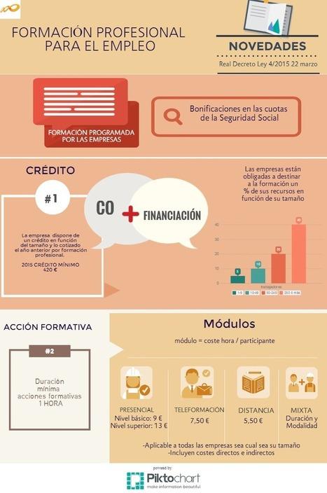 Formación profesional para el empleo : infografía | Transferencia del Aprendizaje. FP, Universidad y Empresa | Scoop.it