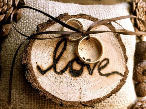 Porta-alianzas: Un pequeño gran detalle en tu boda | Celebra | Scoop.it